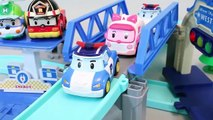 Робокар Поли Трек Машинки Тайо Маленький Автобус Игрушки Играть Doh Сюрприз Учим Цвета Ютубе