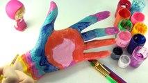 Принцессы Диснея бодиарт изучаем цвета    изучение цветов для детей