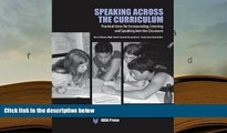 Free PDF Speaking Across the Curriculum: Practical Ideas for Incorporating Listening and Speaking
