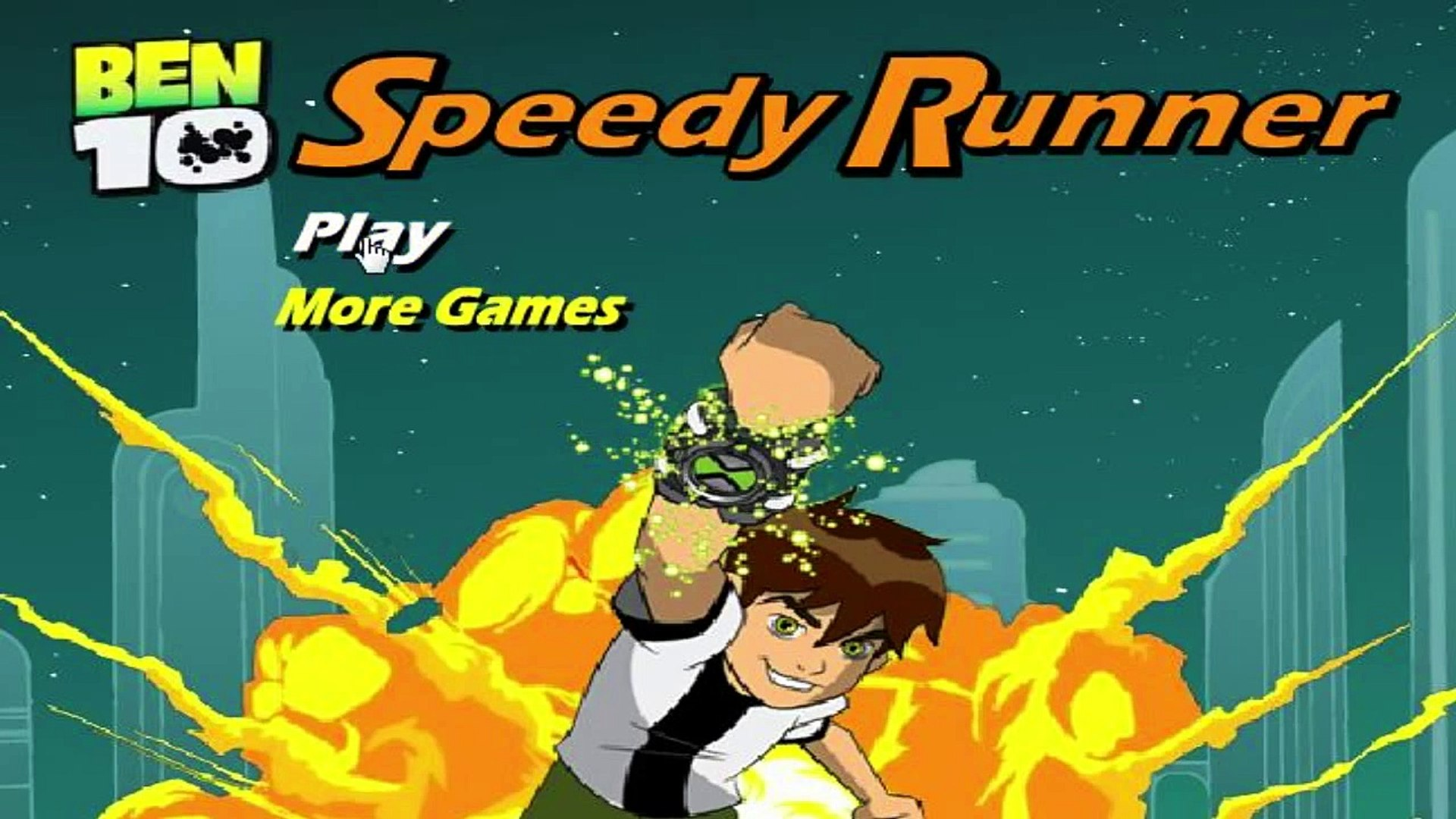 Ben 10 Speedy Runner - Ben 10 Games
