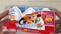 Киндер Сюрприз Джой XXL Мотоцикл,Kinder Joy Collection XXL Baue dein Motorrad