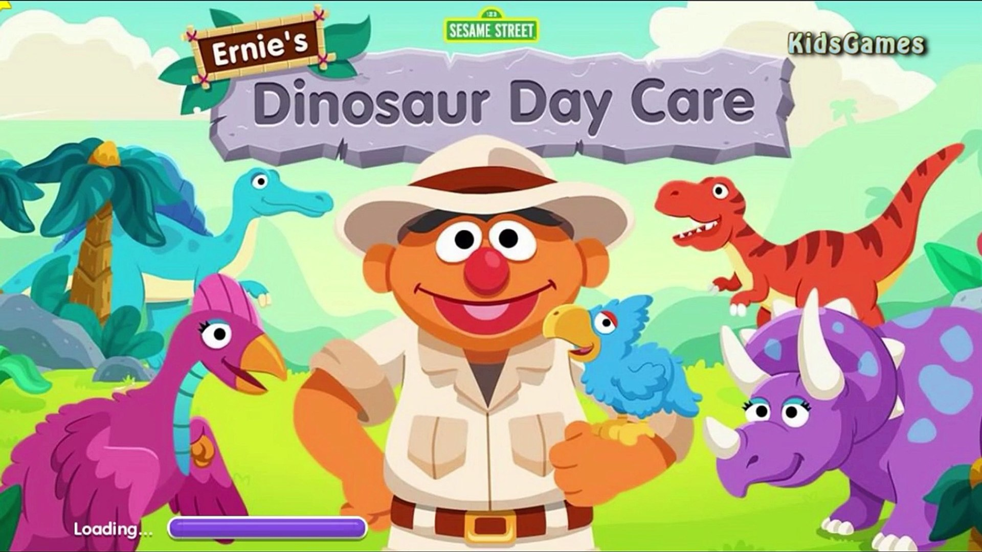 Dinosaur Day Care Fun Video for Kids Education Game