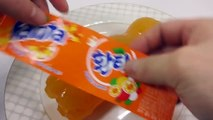 How To Make Real Gummy Fanta Drinking Pudding Bottle Shape Jelly Cooking Learn the Recipe YouTube