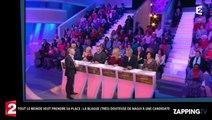 TLMVPSP : Nagui tente une blague très coquine avec une candidate