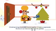 ᴴᴰ Happy Holidays new (Day 3: Christmas & 4: Boxing Day) - Animated Google Doodle Tis the season!