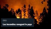 Des incendies dévorent des dizaines de milliers d'hectares au Chili
