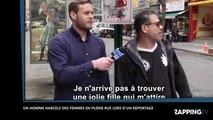 Un homme harcèle des femmes lors d'un reportage sur… le harcèlement de rue (Vidéo)