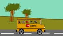 Колеса на автобус пойти кругом песни супер героев английский | потешки для малышей