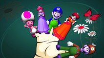 Finger Family Nursery Rhymes For Babies | Super Mario Cartoons Finger Family Rhymes For Children