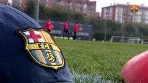 """FCB Juvenil A: Gabri: """"El derbi contra l'Espanyol serà molt complicat i té molts alicients"""""""