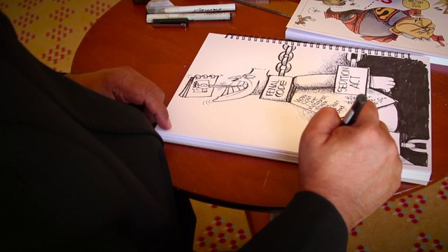 Zunar, cartoonist and bugbear of the Malaysian government