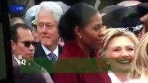 Quand Hillary Clinton surprend Bill Clinton en train de reluquer la jolie fille du Donald Trump, Ivanna Trump