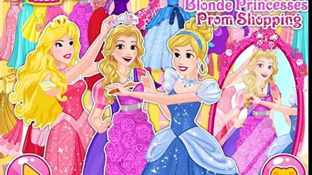 Blonde Princess Prom Shopping Games Disney Princess