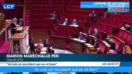 """IVG - Marion Maréchal-Le Pen : """"Je suis un accident"""""""