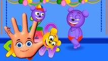 Mega Gummy bear body celebrating new year finger family nursery rhymes for kids   Cartoons funny