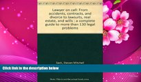 READ book Lawyer on call: From accidents, contracts, and divorce to lawsuits, real estate, and