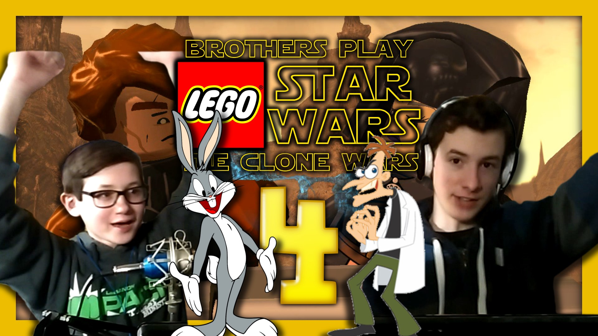 'Weapons Factory' Brothers Play LEGO Star Wars III: The Clone Wars Episode 4