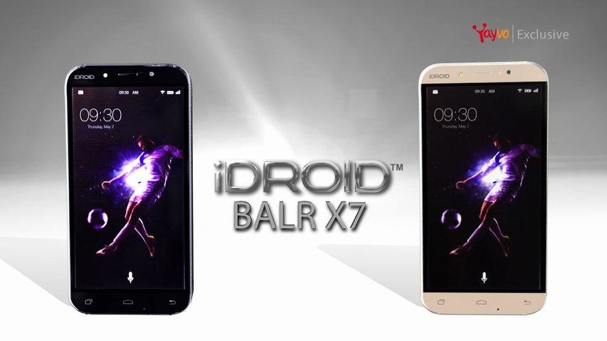 iDroidUSA: iDroid Balr X7 Smartphone Exclusively Available at Yayvo.com