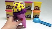 Play Doh Ice Cream Cones How to Make Playdough Ice Cream Cone Popsicles Sundaes