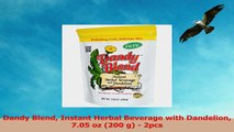 Dandy Blend Instant Herbal Beverage with Dandelion 705 oz 200 g  2pcs 53a47545