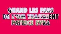 Quand les supporters de l'OM insultaient Patrice Evra lors de Manchester United - Olympique de Marseille (15-03-2011)
