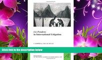 EBOOK ONLINE Lis Pendens in International Litigation (Les Livres de Poche de L Academie de Droit