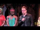 "U2 Frontman Bono Visits ""Eclipsed"""