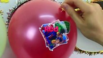 The Balloons Popping Show Learn Colors Avengers Balloons Finger Family Nursery Rhymes Collection