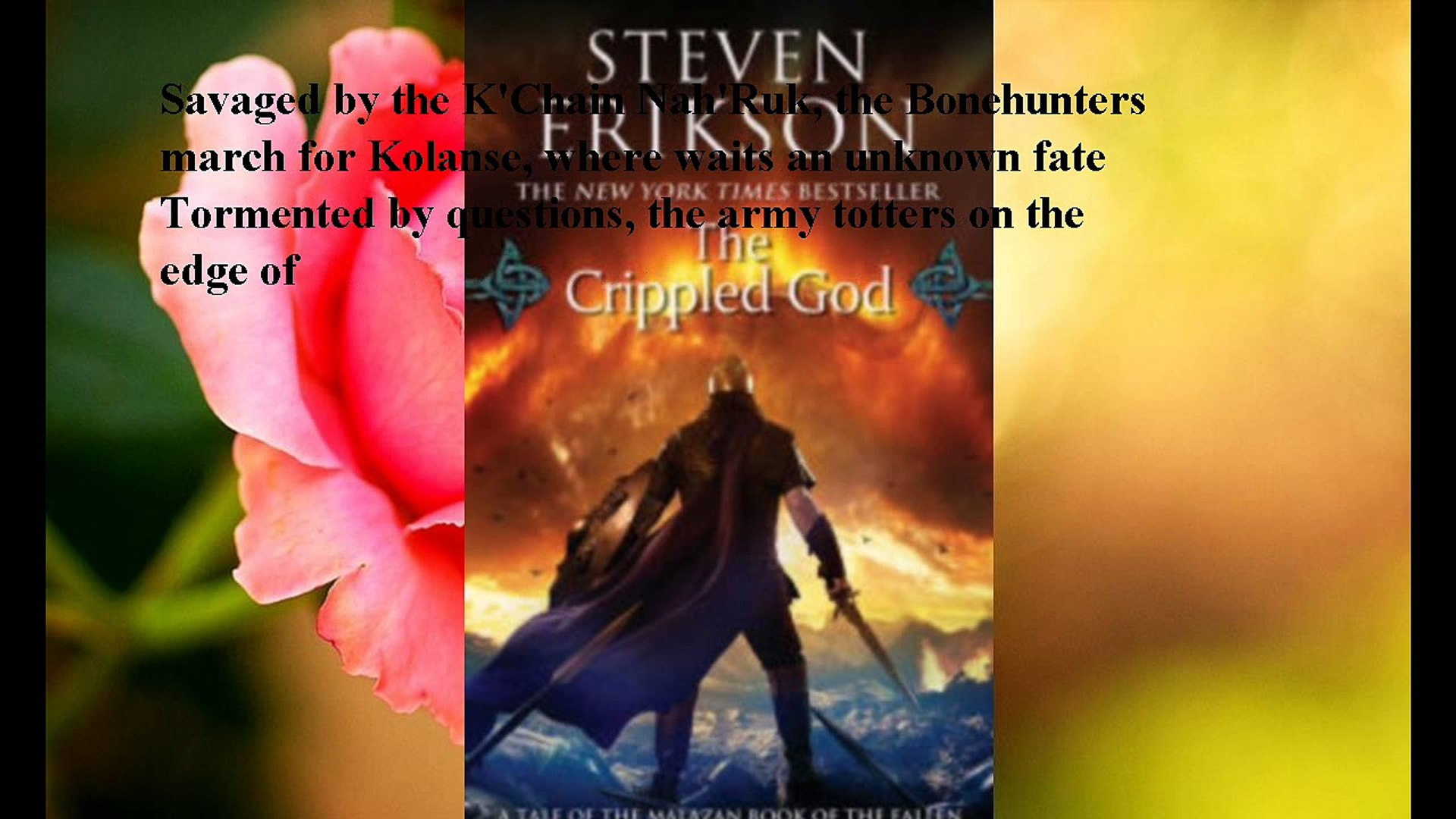 Download The Crippled God Malazan Book Of The Fallen Series 10