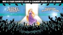 #Disney Princess | #Frozen Elsa, Ariel & Rapunzel Fancy Dress Fashion Show #Animation For Kids