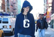 Gigi Hadid Hides Scary Skinny Frame In Baggy Sweatshirt