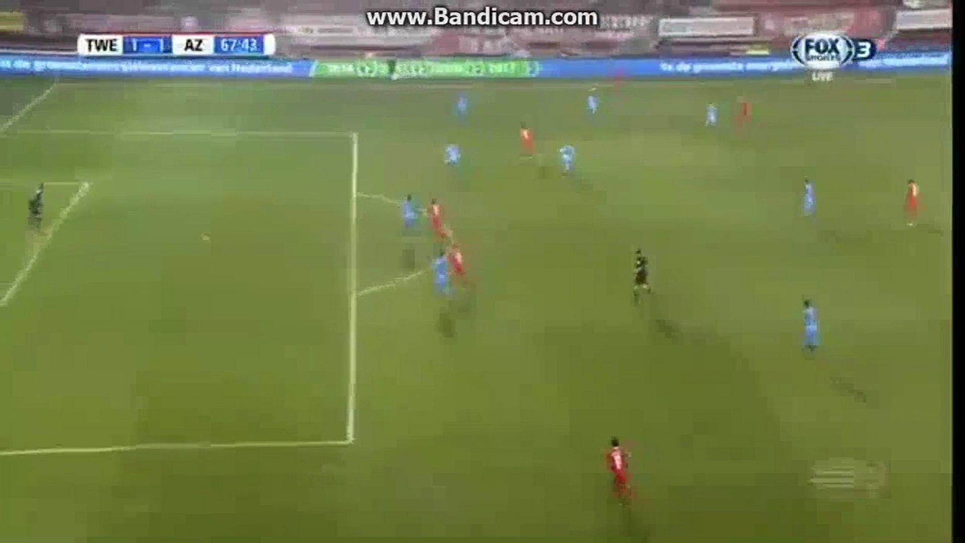 Enes Unal Goal HD - FC Twente 1-1 AZ Alkmaar - 17.12.2016 HD