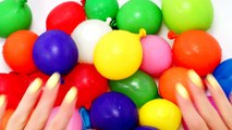 Learn Colors with Wet Water Balloons   A TISKET A TASKET   BABY KIDS NURSERY RHYMES SONGS YOUTUBE