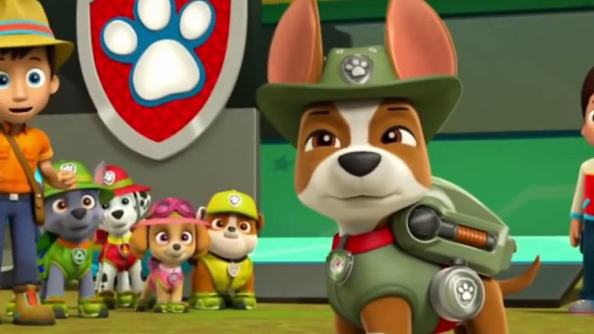Á´´á´°animation Cartoons For Kids Tracker Joins The Pups Paw Patrol Full Episodes English Ep 14 Video Dailymotion