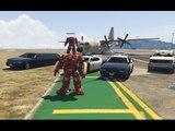 Sieu Nhan Game Play | Mod Ironman Đi quẩy nát thành phố | Game Gta 5 #2