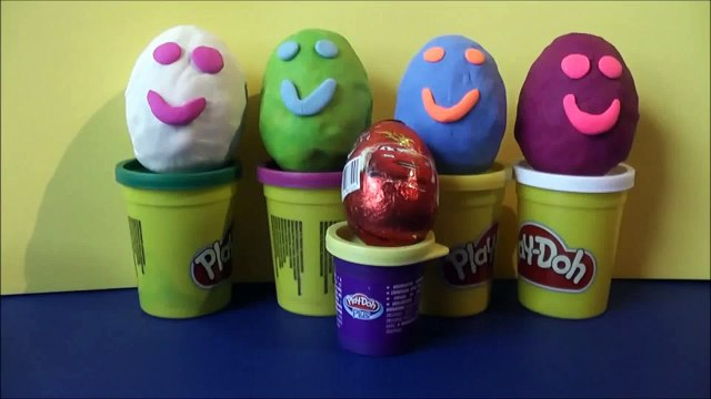 Kinder Surprise Eggs, Kinderägg, Surprise Eggs, Play-Doh, Disney Planes, Play-Doh Surprise Eggs
