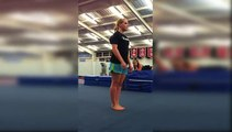 Girl Doing Back Flip Goes Wrong and Painful -Must Watch Backflip Fails