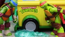 Teenage Mutant Ninja Turtles Shrink Party Wagon DVD Collection with Secret Ooze and Metal Head