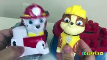 Paw Patrol Toys Nickelodeon Ionix Jr Tower Block Set Marshall Fire Truck Toys Truck ABC SURPRISES