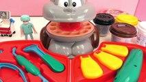 Médecin Playmobil Fun avec un singe – Dentiste pour primates avec des dents en or et traitement