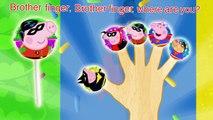 Peppa Pig Batman vs Superman Lollipop Finger Family Nursery Rhymes Lyrics and More