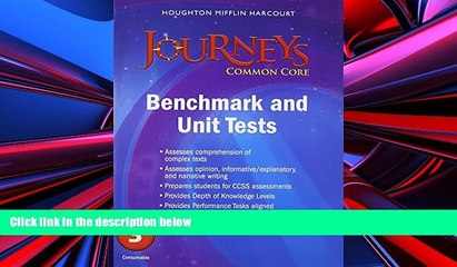 Audiobook Journeys: Common Core Benchmark Tests and Unit Tests Consumable Grade 3 HOUGHTON MIFFLIN