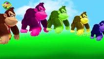 Cartoon Finger Family Rhymes For Kids Cartoon Gorilla Cute Animated Finger Family Rhymes For Childre