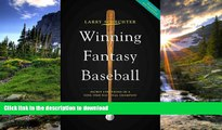 READ Winning Fantasy Baseball: Secret Strategies of a Nine-Time National Champion Full Download