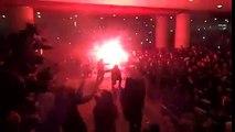 Les ultras de l'Ajax foutent une ambiance phénoménale en déplacement