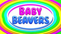 Chant the Alphabet #2   Learn the ABCs with Baby Beavers, Fun & Colorful Educational Video, Kids