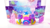 Cra-Z-art Mermaid Sqand Castle Princess Ariels Underwater Sand Cove Toy Crafts for Kids