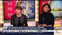 Le Must: Les Galeries Lafayette ont dévoilé leur première collection de prêt à porter, imaginée par Laëtitia Ivanez - 16/12