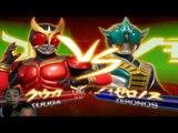 Sieu Nhan Game Play | siêu nhân dế | Game kamen rider climax heroes | Rider Kuuga vs Rider Habiki