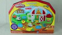 Play-Doh Farm Barnyard Pals Play Doh Set Playdough Animals Barn Hair Play-Doh Dog DisneyCarToys